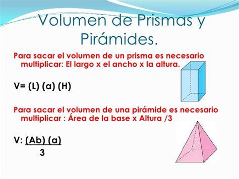 fisicanet definici 243 n de 243 ptica geom 233 trica ap14 f 237 sica como calcular el volumen de una piramide volumen de prismas