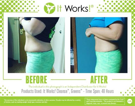 Heated Wrap For Detox Before And After by 1000 Ideas About Itworks Cleanse On It Works
