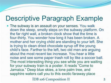5 Paragraph Descriptive Essay by 5 Paragraph Descriptive Essay Ex