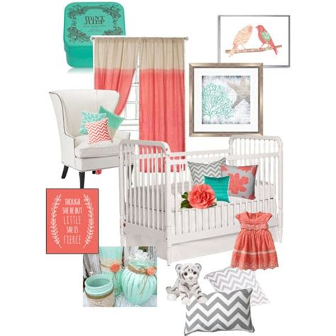 Mint And Coral Home Decor 42 Best Mint Coral Nursery Images On Pinterest Child