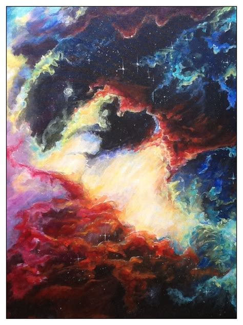 acrylic painting nebula 17 best images about yeah whatever mural on