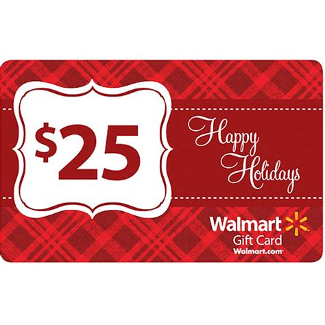 Walmart 25 Gift Card - holiday 25 gift card gift cards walmart com