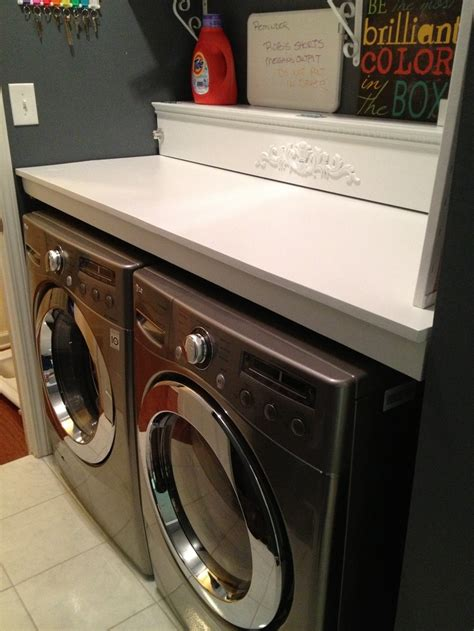 Washer And Dryer Countertop by Custom Counter Washer And Dryer Removable For The