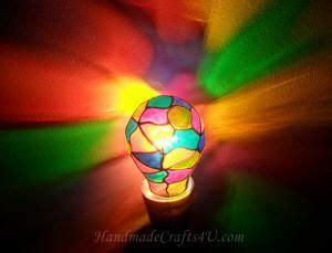 diy stained glass light bulb diy stained glass light bulb could probably done with
