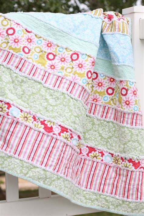 how to make comforters yourself do it yourself divas diy baby rag quilt i like the idea