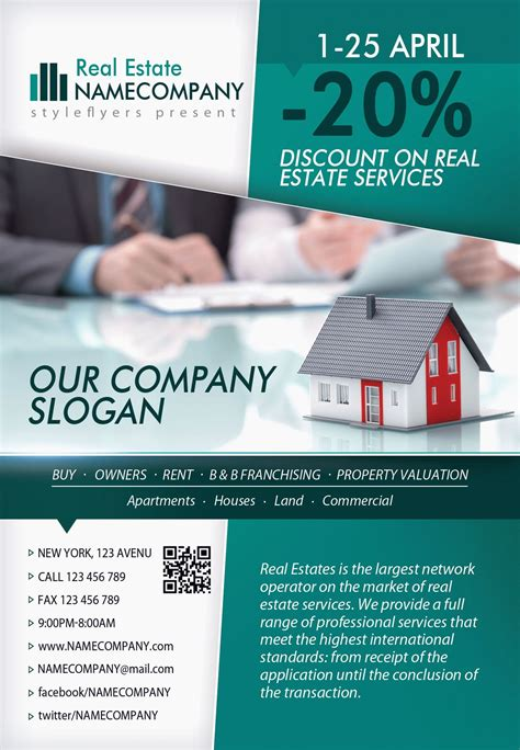 real estate flyer template psd real estate psd flyer template by styleflyers