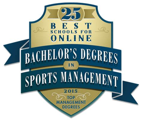 best sports management schools 25 best schools for bachelor s degrees in sports