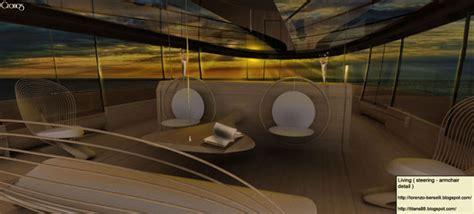 ultra modern mega yacht interior cronos yacht design concept by simone madella and lorenzo
