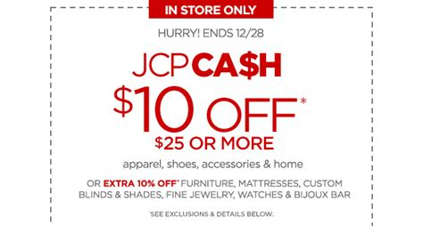 jcpenney printable coupons 10 off 25 2013 jcpenney s 10 off a 25 purchase