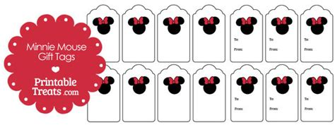 printable minnie mouse christmas gift tags simple minnie mouse gift tags