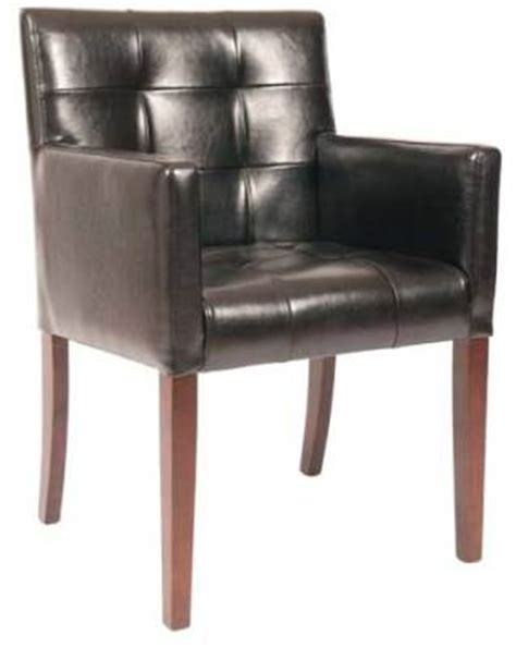 quilted leather carver chair wilton reality