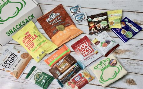 Subscription Box Giveaway - snacksack subscription box review giveaway september 2017 this mama reviews