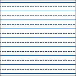 handwriting lines template writing lines for kindergarten writing skills