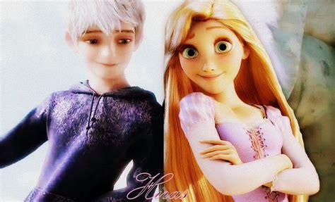 imagenes de jack y rapunzel rapunzel and jack frost by hiras on deviantart