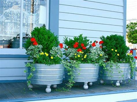 Wash Tub Planter by Pin By Nancy Faselt On Wash Tubs I Can Do This