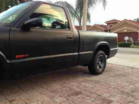 manual cars for sale 1994 chevrolet s10 on board diagnostic system find used 1994 chevrolet s10 ss standard cab pickup 2 door 4 3l in miami florida united states