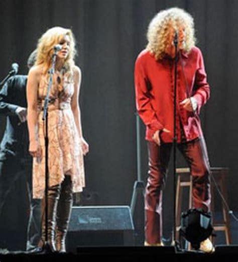 Robert Plant And Alison Krauss Celebrate Launch Of New Album by Robert Plant And Alison Krauss At The Birmingham Nia