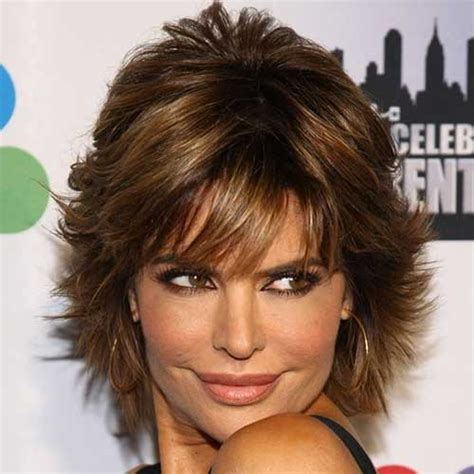 lisa rinna shaggy hairstyle 20 short sassy haircuts short hairstyles 2017 2018