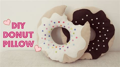 Donut Pillow Diy by Diy Donut Pillow Jtru