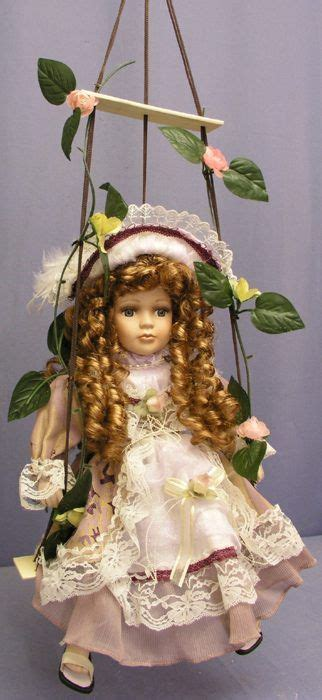 swing dolls 174 best porcelain dolls images on pinterest porcelain