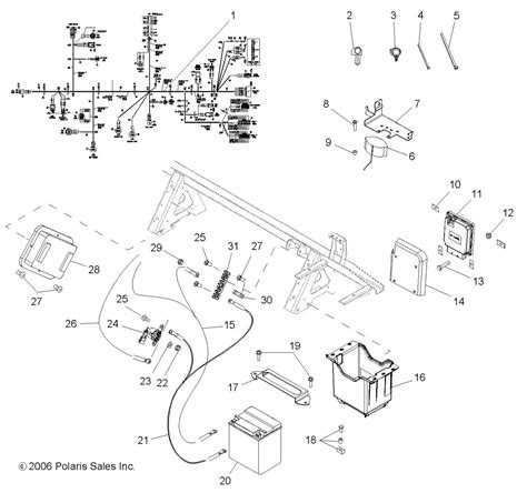 polaris ranger 500 wiring diagram on xp polaris free