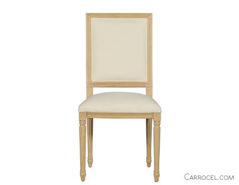 Custom Dining Chairs Louis Capet Custom Dining Chair Side Carrocel Furniture