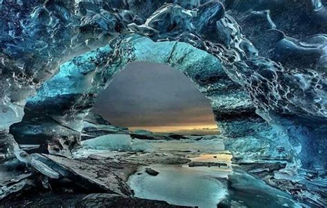 crystal cave iceland amazing crystal caves from around the world page 1
