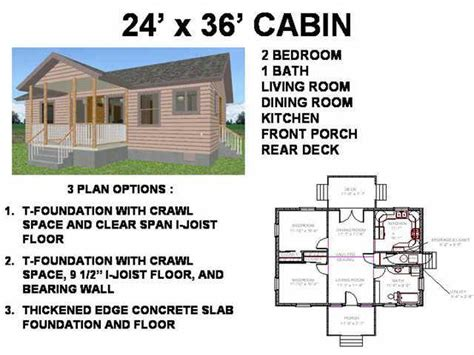 cabin building plans 24 x 36 cabin floor plans free house plan reviews