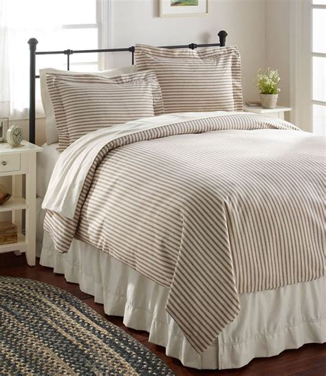 Llbean Bedding ll bean ticking striped bedding