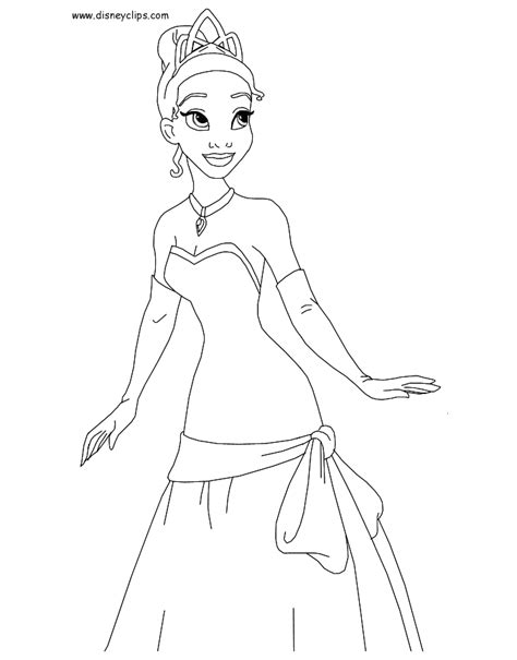 the princess and the frog coloring pages disney coloring