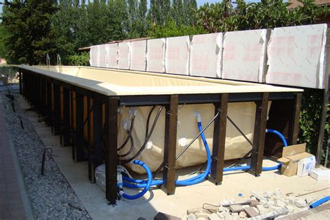 piscine fuori terra rivestite in legno rivestimento in legno per piscine fuori terra zs15