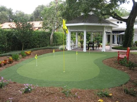 how to build backyard putting green putting green kits landscaping network