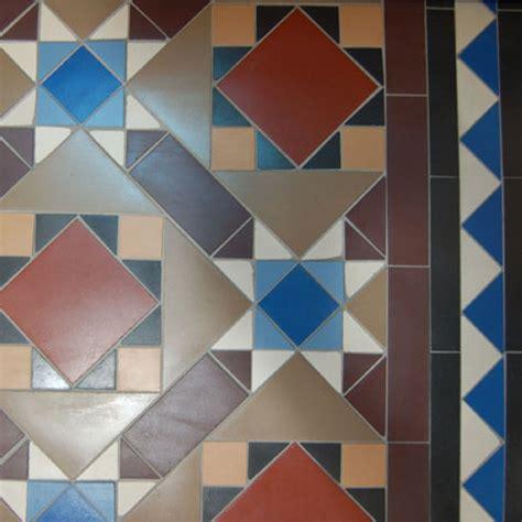 Blue Bathroom Tile Lady Wood Mosaic Floor Tiles Border Victorian Mosaic