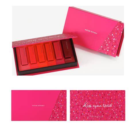 Lohacell Pop Drop Shine Tint box korea nature republic my mini lipstick