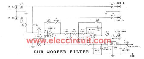 high pass filter on subwoofer high pass filter for subwoofer 28 images gt low pass filter for subwoofer today s circuits