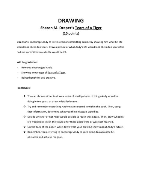 Tears Of A Tiger Essay by Tears Of A Tiger Essay Question Augustak12 X Fc2