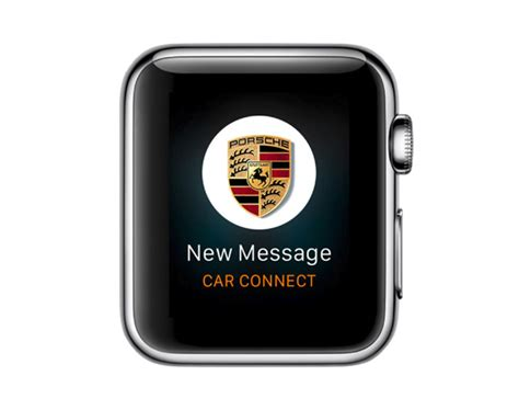Auto Design App by Porsche Car Connect App For Apple Watch The Daily Cloth