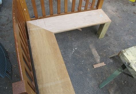 corner bench diy plans build  reloading bench plans
