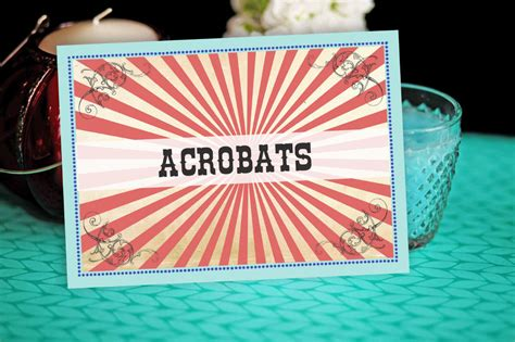 carnival themed names 50 wedding table name ideas