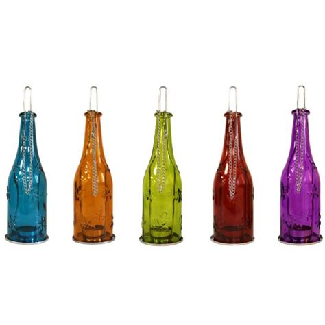 Wine Glass Holder Chandelier How To Recycle Recycling Empty Glass Bottles