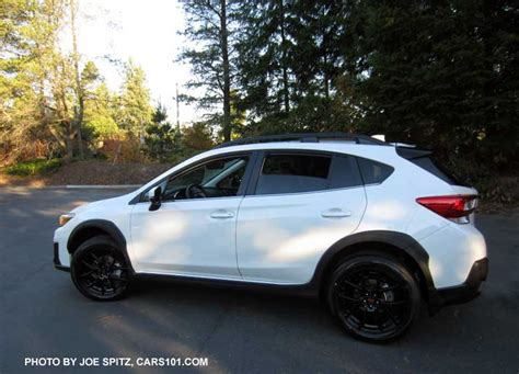 subaru crosstrek white 2018 2018 subaru crosstrek options and upgrades photo page