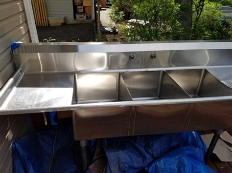 3 bay sink for sale 3 bay sink for sale classifieds