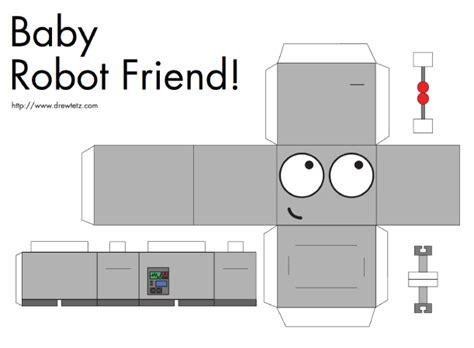 robot template paper craft new 869 papercraft templates robot
