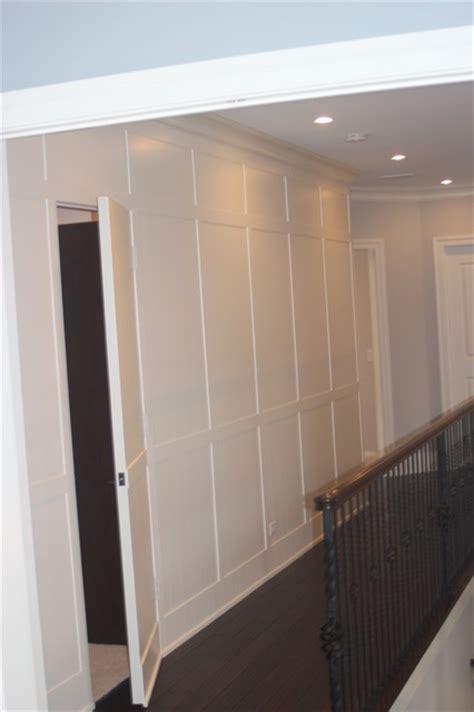 Home Decorators Inc Wainscot Wall With Hidden Door
