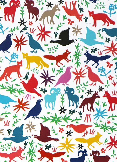 Decorated Paper Designs otomi designer decorative gift wrapping paper