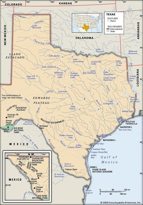 texas mountain ranges map texas history geography state united states encyclopedia britannica