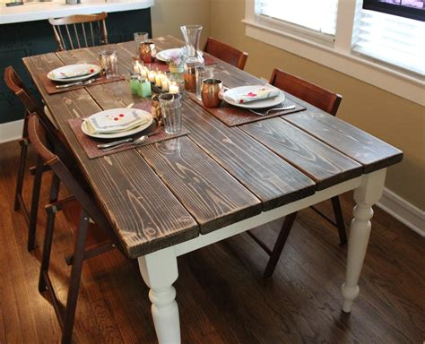 how to make a farmhouse dining table large and beautiful diy farmhouse table squid birch