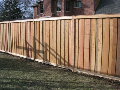 types of backyard fences board and batten fence backyard plants garage ideas