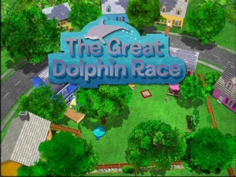 Backyardigans Great Dolphin Race The Great Dolphin Race The Backyardigans Wiki