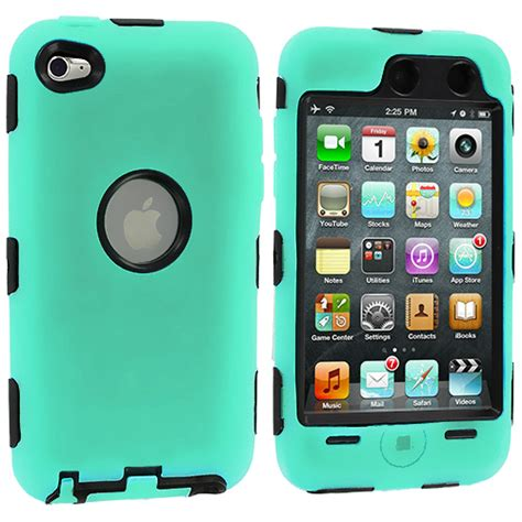 Soft Ipod Touch 4 deluxe color black soft cover for ipod touch 4